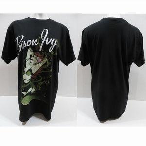 DC Comics shirt XL Poison Ivy graphic short sleeve
